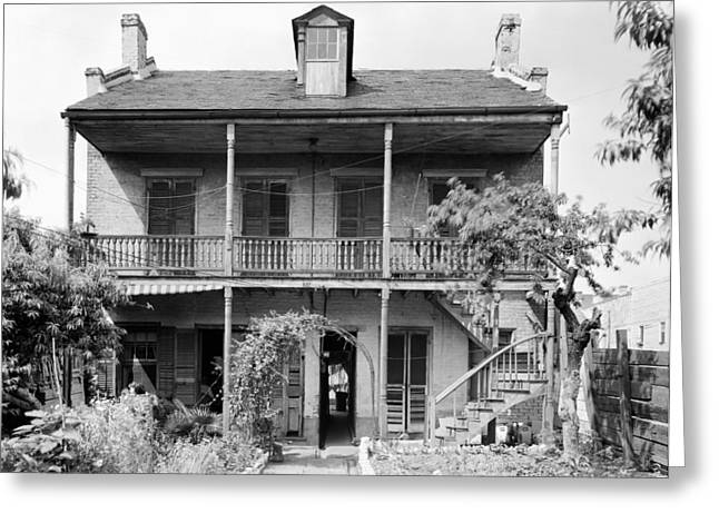 New Orleans House Greeting Card by Granger