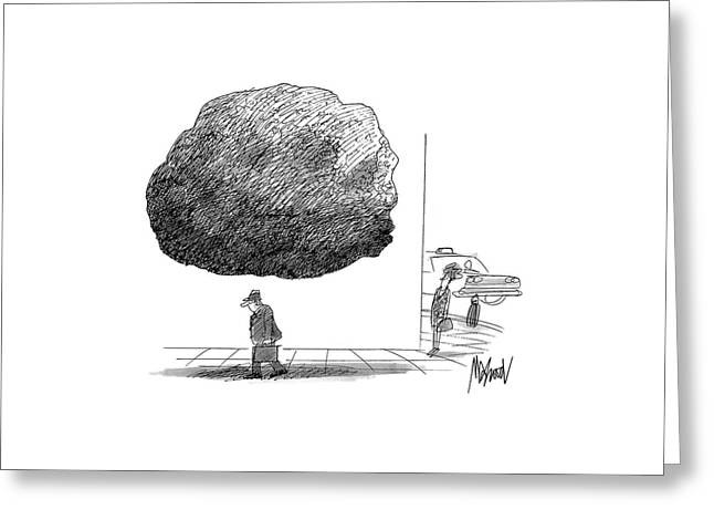 New Yorker October 12th, 1992 Greeting Card by Kenneth Mahood