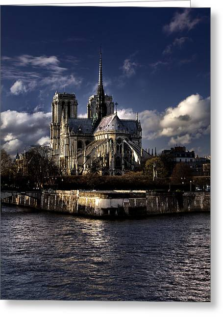 Notre Dame Paris Greeting Card