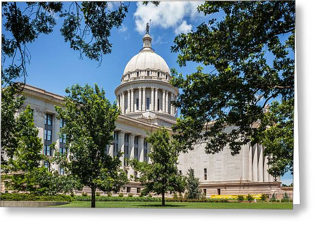 Oklahoma State Capital Greeting Card