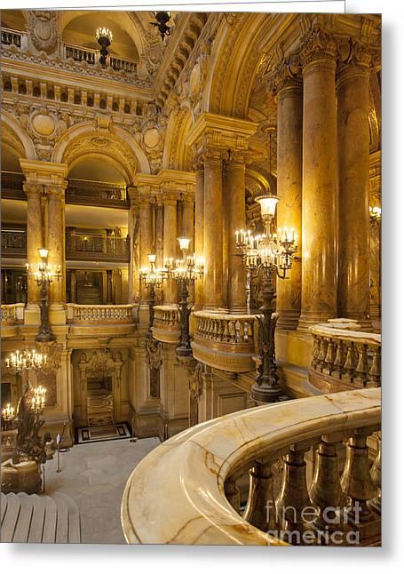 Palais Garnier Interior Greeting Card by Brian Jannsen