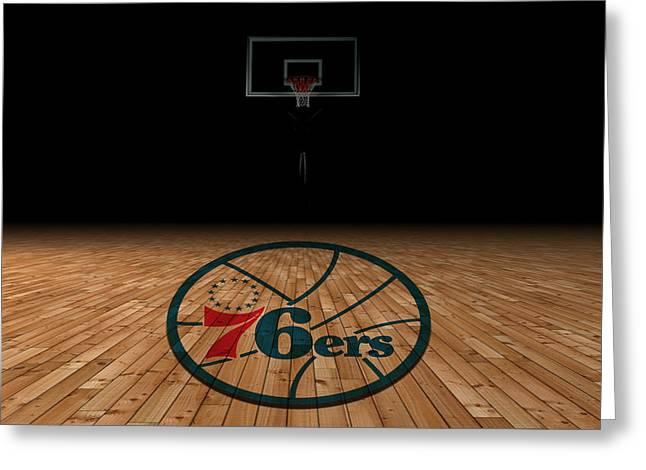 Philadelphia 76ers Greeting Card