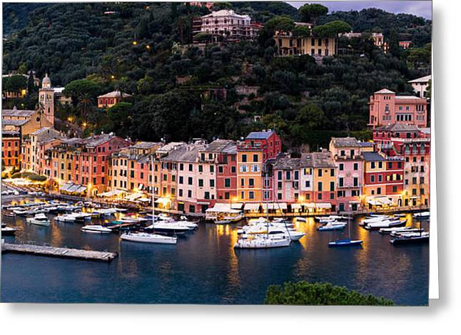 Greeting Card featuring the photograph Portofino Italy by Carl Amoth