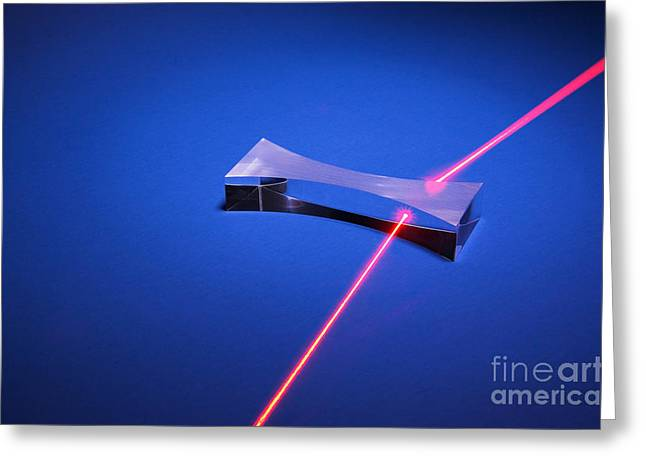 Refraction Greeting Card by GIPhotostock