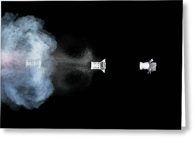 Shotgun Shot Greeting Card by Herra Kuulapaa � Precires