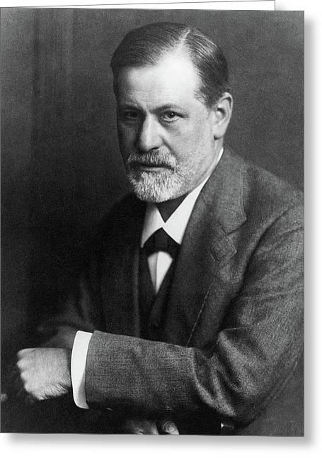 Sigmund Freud (1856-1939) Greeting Card