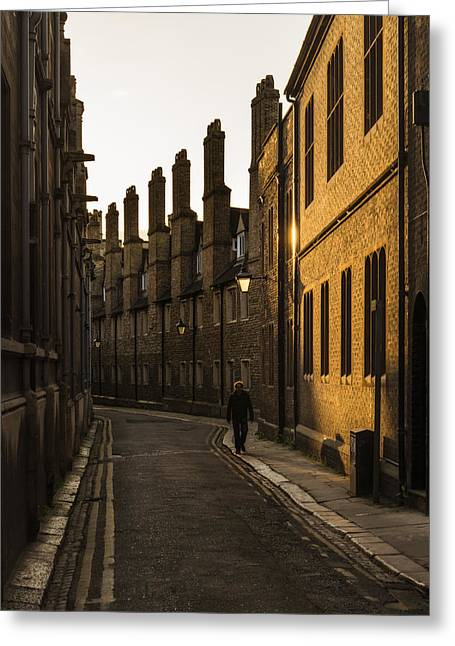 Stunning Images Of Cambridge City And University Locations From  Greeting Card by Matthew Gibson