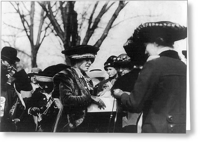 Suffragettes, 1913 Greeting Card