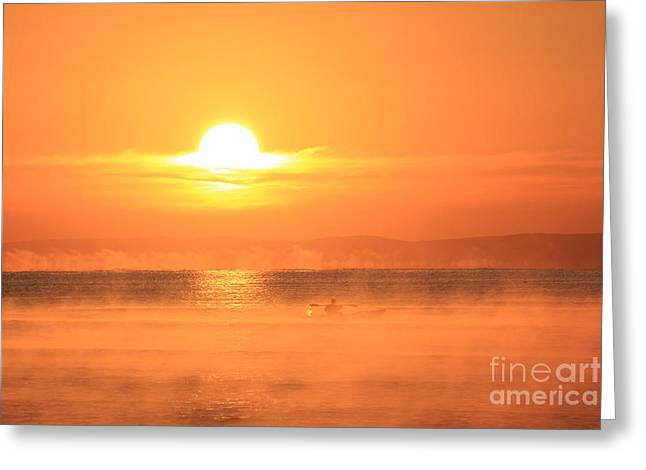 One Beautiful Morning... Greeting Card