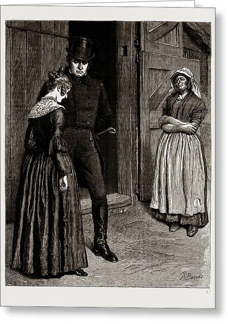 The Mayor Of Casterbridge, Drawn By Robert Barnes Greeting Card