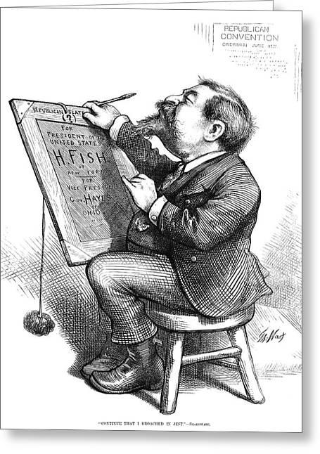 Thomas Nast (1840-1902) Greeting Card by Granger