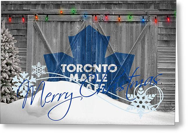 Toronto Maple Leafs Greeting Card