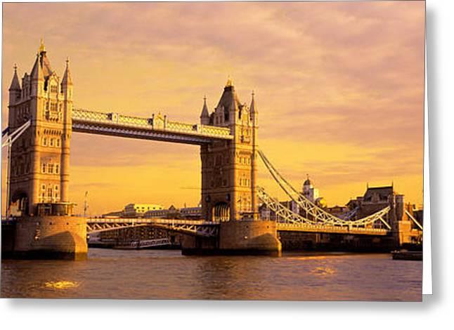 Tower Bridge London England Greeting Card