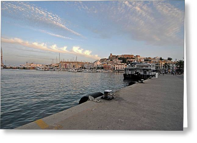 Travel Images Of Formentera Greeting Card