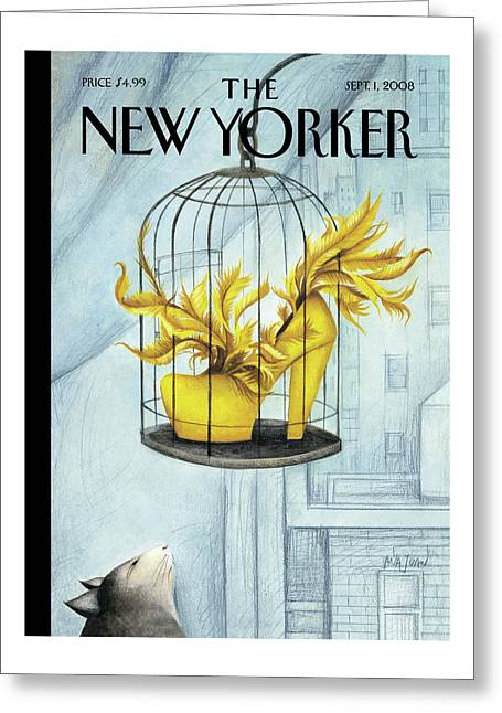 New Yorker September 1st, 2008 Greeting Card