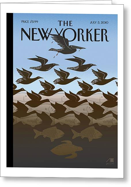 New Yorker July 5th, 2010 Greeting Card