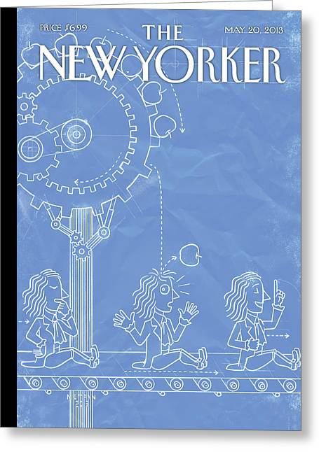 New Yorker May 20th, 2013 Greeting Card