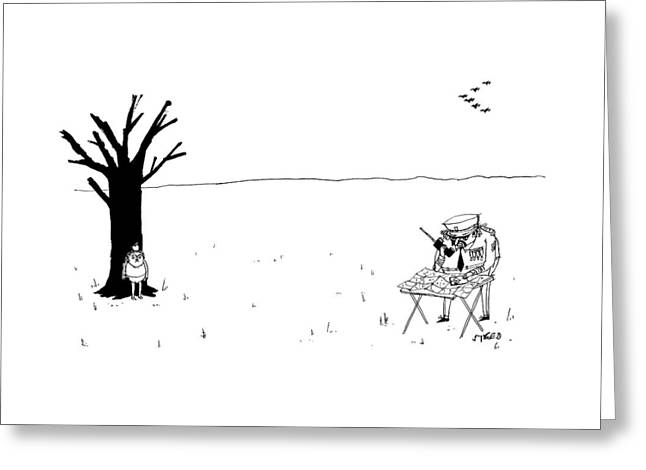 New Yorker October 10th, 2016 Greeting Card