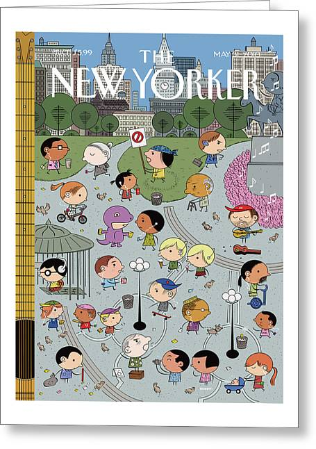 New Yorker May 31st, 2010 Greeting Card
