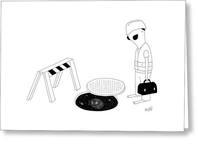 New Yorker August 29th, 2016 Greeting Card by Seth Fleishman