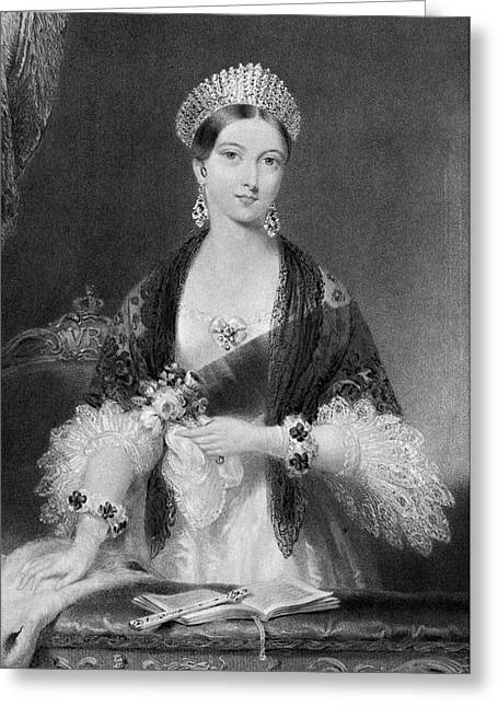 Victoria Of England (1819-1901) Greeting Card by Granger