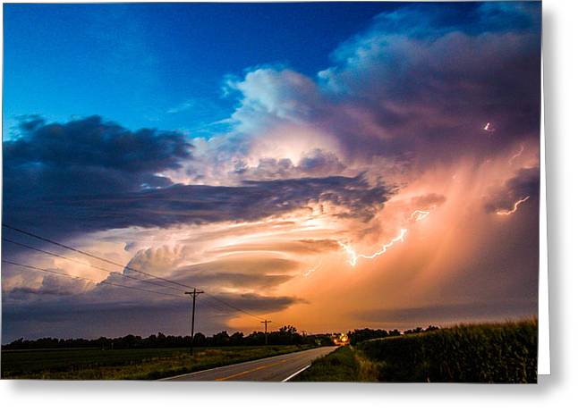 Wicked Good Nebraska Supercell Greeting Card