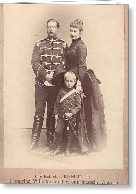 William II Of Germany (1859-1941) Greeting Card
