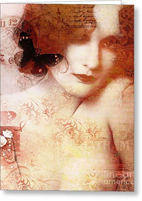 Winsom Women Greeting Card by Chris Andruskiewicz