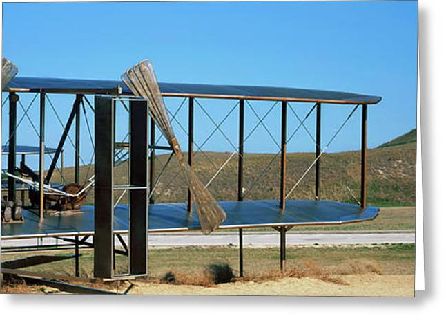 Wright Flyer Sculpture At Wright Greeting Card