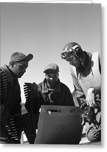 Wwii: Tuskegee Airmen, 1945 Greeting Card