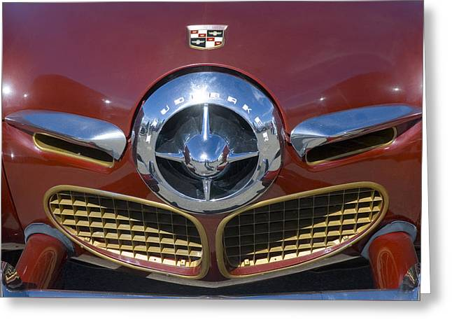 50 Studebaker Bullet Nose Greeting Card by Jerry McElroy