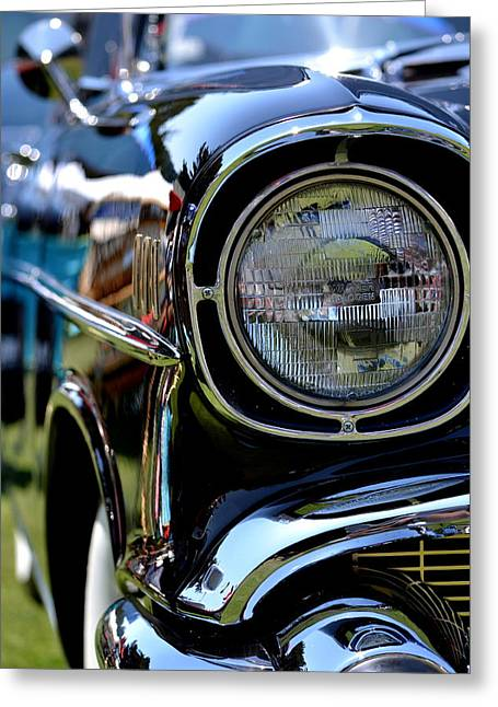 Greeting Card featuring the photograph 50's Chevy by Dean Ferreira