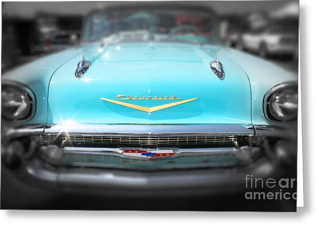 Greeting Card featuring the photograph 50's Dream by Paul Cammarata