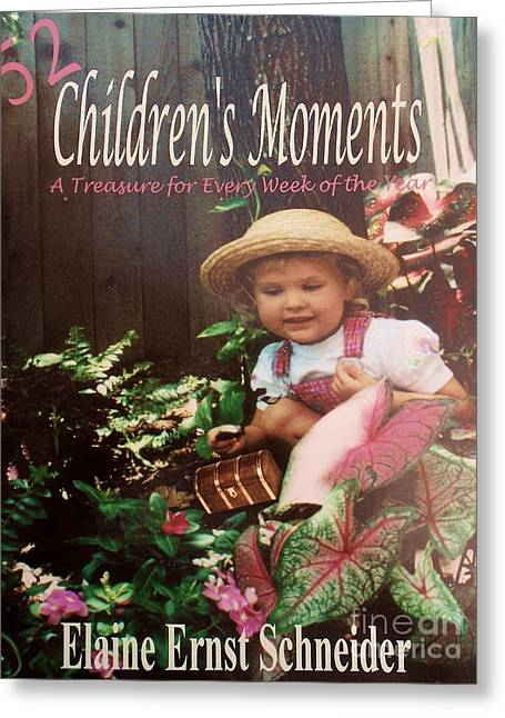 52 Children's Moments - Book Cover Greeting Card by Eloise Schneider