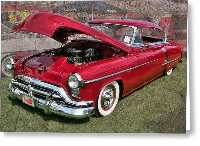 '52 Oldsmobile Greeting Card by Victor Montgomery