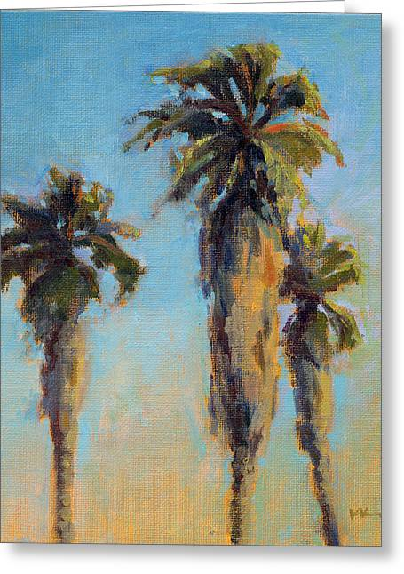 Greeting Card featuring the painting Pacific Breeze by Konnie Kim