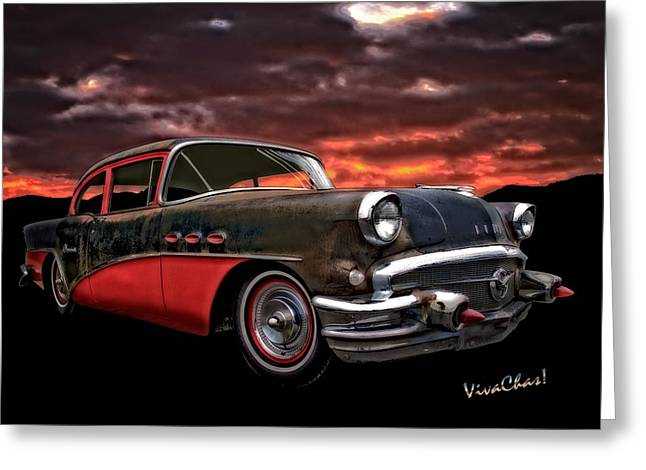 53 Buick Special Two Door Greeting Card