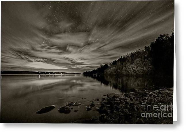 54 Boat Launch  Greeting Card