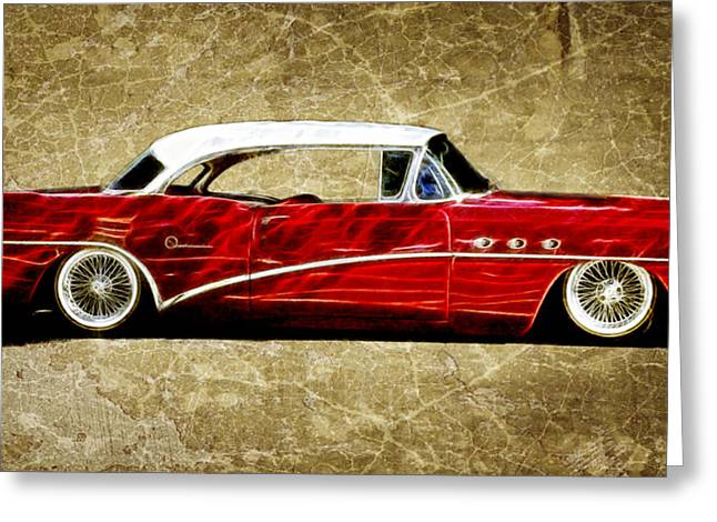 54 Buick Special Greeting Card by Steve McKinzie