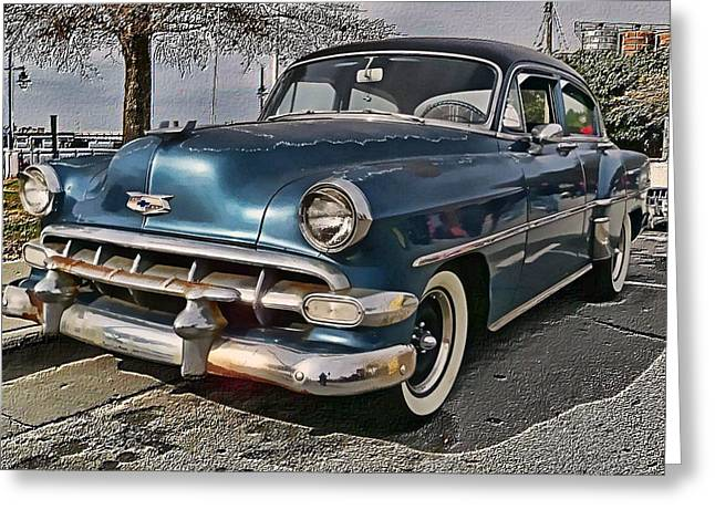 '54 Chevy Greeting Card