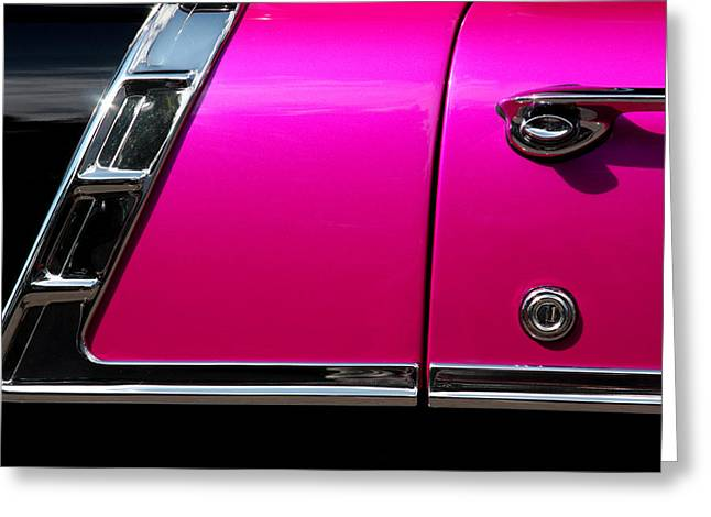 56 Chevy Two Tone Greeting Card by Steve Raley