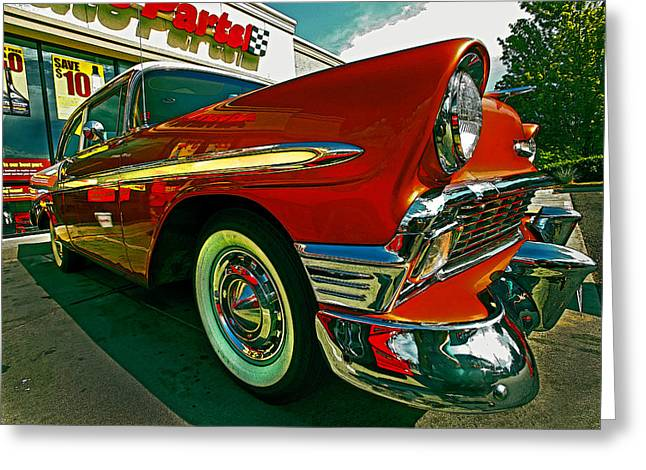 56 Dazzle Greeting Card by Mike Flynn