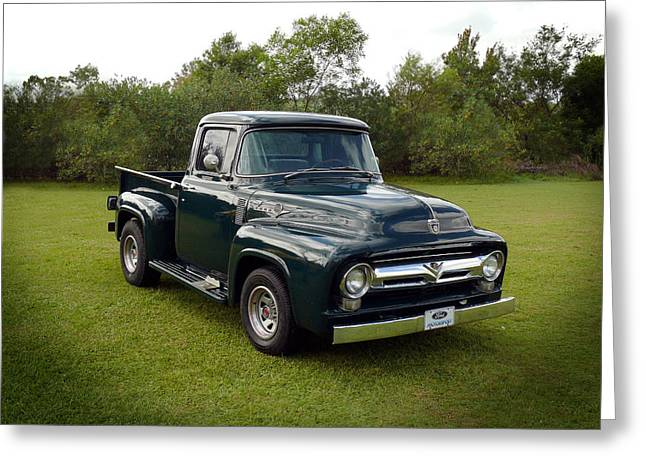 Greeting Card featuring the photograph 56 F100 by Keith Hawley