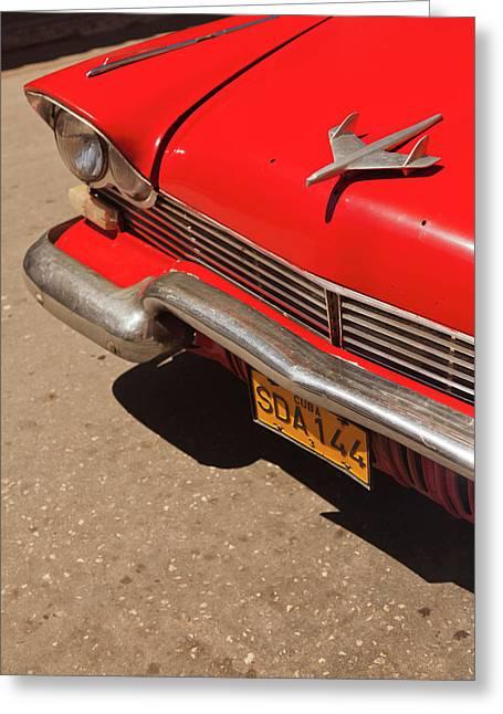 Cuba, Sancti Spiritus Province Greeting Card by Walter Bibikow