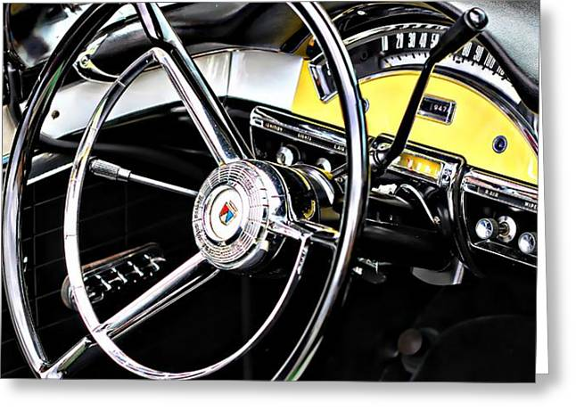 '57 Ford Fairlane 500 Greeting Card