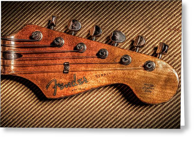 '57 Stratocaster Greeting Card by Ray Congrove