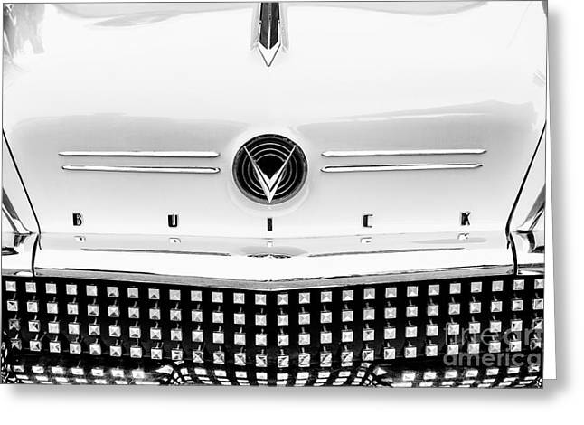 58 Buick Greeting Card by Tim Gainey