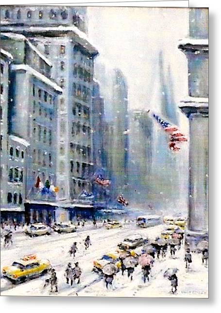 5th Ave Nyc Greeting Card