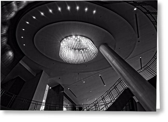 5th Avenue Lobby In Nashville Greeting Card by Dan Sproul