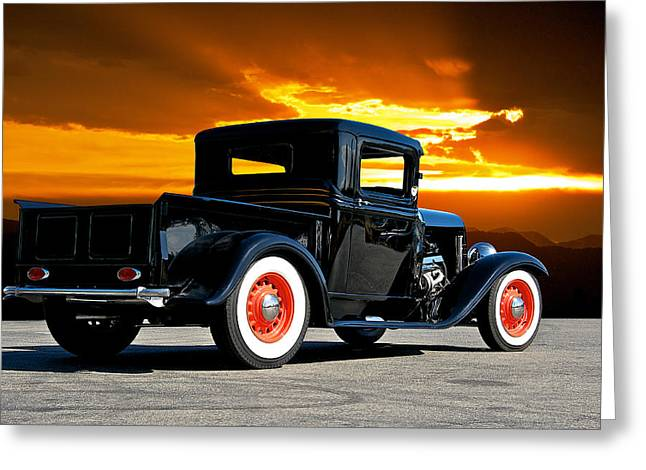 1932 Ford Pick Up Greeting Card by Dave Koontz